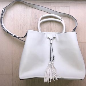 French Connection Bucket Bag With Adjustable Strap